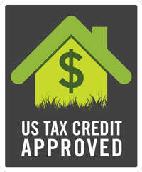 US Tax Credit Approved Icon