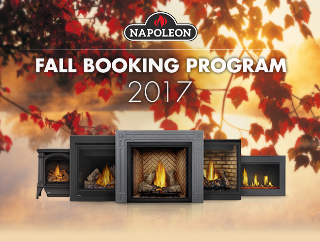 Napoleon Fall Booking Program is here!
